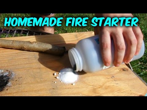 How to Start a Fire with Sugar (Without Matches) - Survival Hack #55