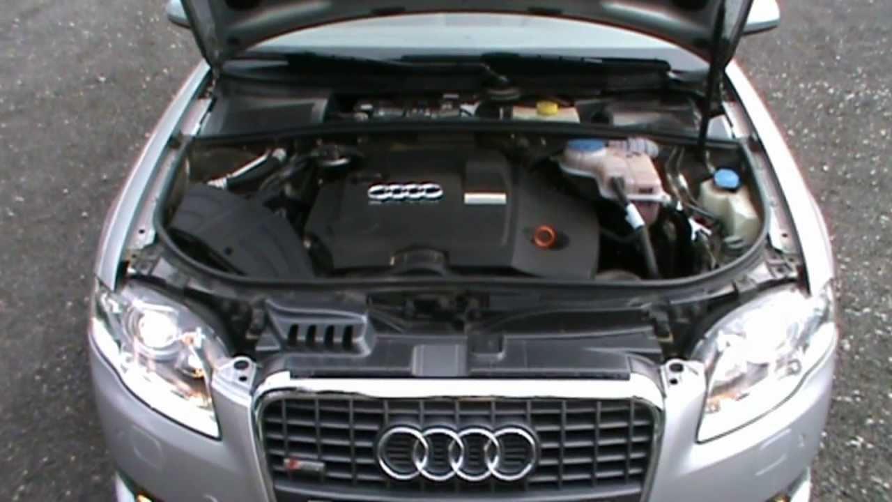 2007 Audi A4 20 TDI DPF SLINE Review,Start Up, Engine