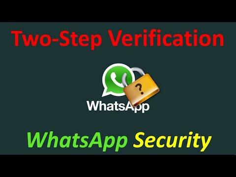 WhatsApp two step verification kya hai || Two step verification enable WhatsApp