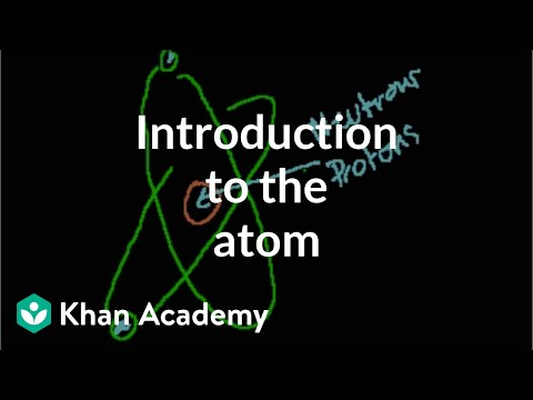 Introduction to the atom | Chemistry of life | Biology | Kha