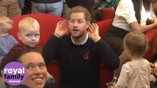 Duke and Duchess of Sussex Enjoy Day With Military Families