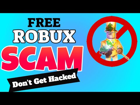 How To Get Free Robux 2021 Robux Promo Codes MUST SEE it's A SCAM - Warning DON'T DO THIS thumbnail
