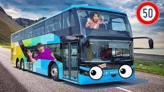 2층버스를 타러갔어요!! 서은이의 타요와 함께 이층버스 타기 영어노래 동요 Double-Decker Bus Tayo Wheels on the Bus Nursery Rhymes