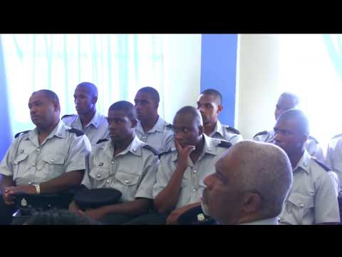 Opening Ceremony of the Royal Montserrat Police Service 7th Recruitment Training June 14, 2016