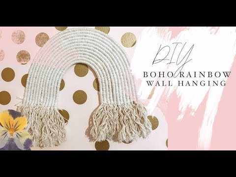 diy:-boho-rainbow-wall-hanging