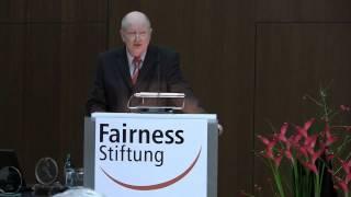 Deutscher Fairness Preis & Fairness-Initiativpreis 2012 | Eröffnung