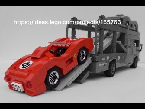 lego speed champions 2018 ferrari youtube. Black Bedroom Furniture Sets. Home Design Ideas
