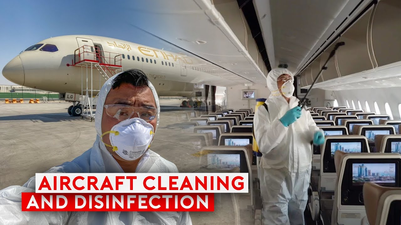 How Airlines Clean and Disinfect Their Planes?
