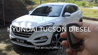Hyundai Tucson Diesel Sights & Sounds