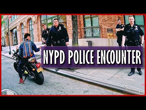 Police Encounter With NINE NYPD Officers