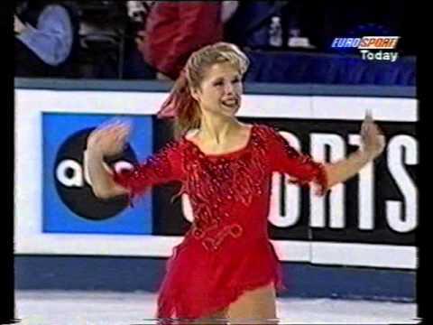 Tanja Szewczenko GER - 1996 World Championships LP - YouTube