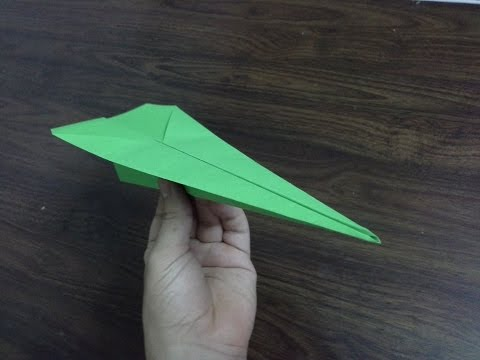 How To Make A Paper Airplane (tutorial) Very Easy Steps