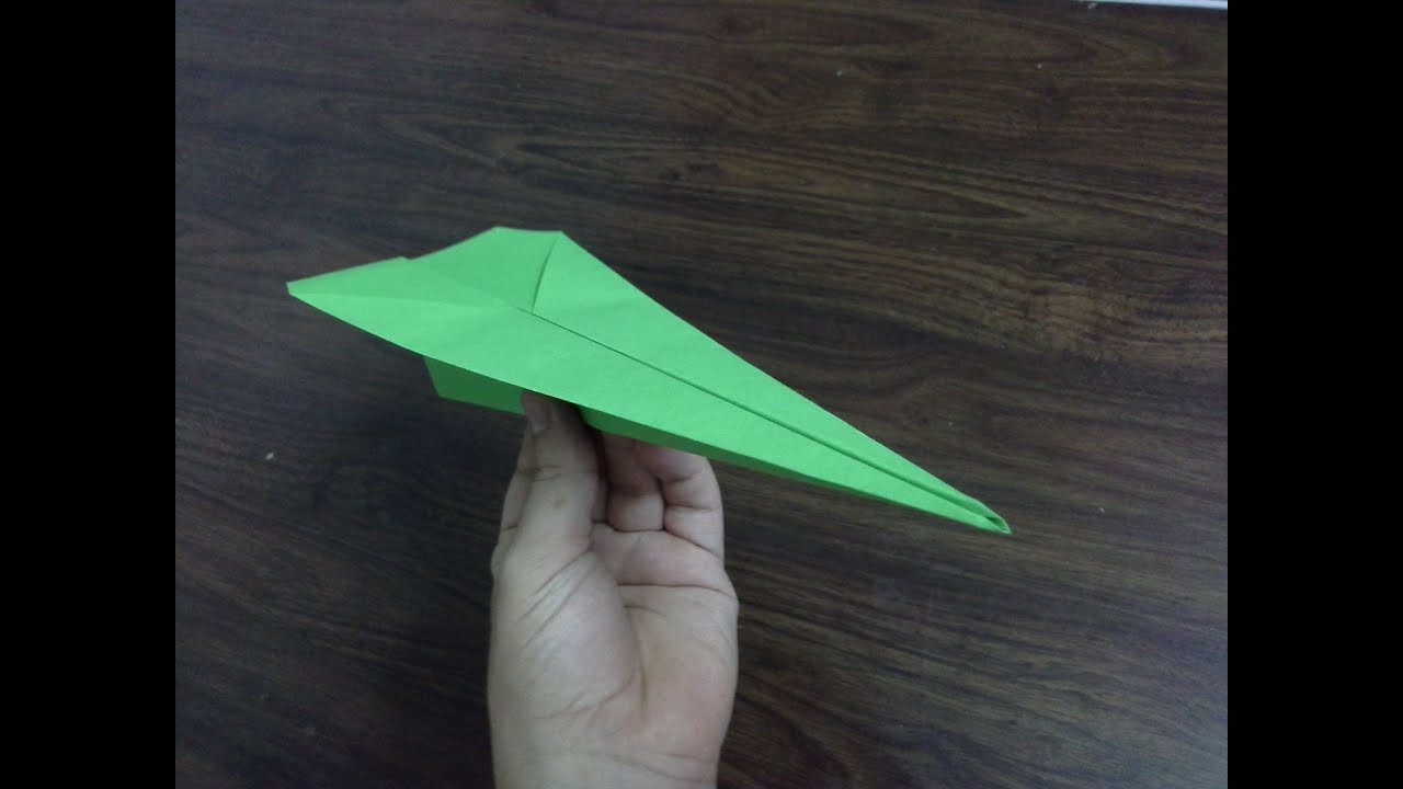 How To Make A Paper Airplane Tutorial Very Easy Steps You