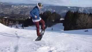 12-13 G'mas Snowboarding Ground Tricks グラトリ