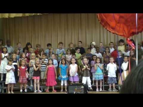 """Never Stop Learning""- Ravine Drive School, Kindergarten Class of 2010 Graduation"