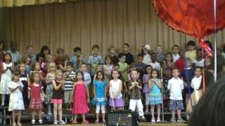 """Never Stop Learning""- Ravine Drive School, Kindergarten Class of 2010 Graduation"