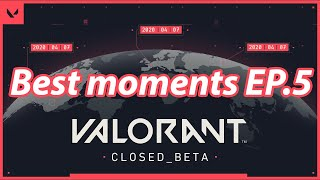 Valorant BEST MOMENTS and FUNNY FAILS   Daily Valorant Moments Ep.5