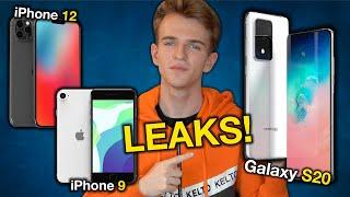 NUOVI iPhone 12, iPad Pro 2020, Galaxy S20 RUMORS & LEAKS