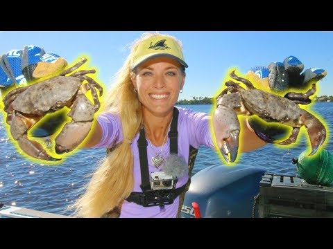I GOT CRABS! Catching KEEPER Stone Crab Claws & Fish!