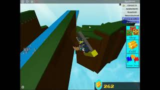 Ride a flying boat in roblox build a boat for treasure