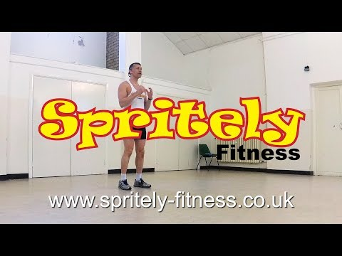 Spritely Fitness Class May 2018