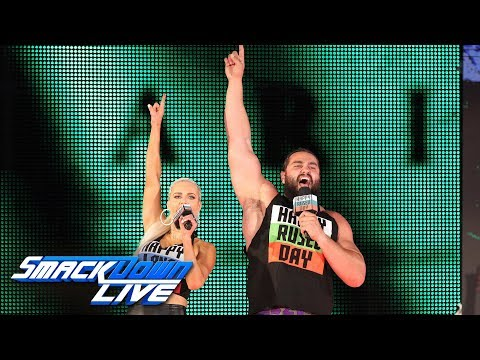Rusev & Lana promise victory at SummerSlam: SmackDown LIVE, Aug. 14, 2018