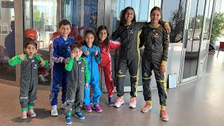 OUR FIRST TIME INDOOR SKYDIVING! HZHtube Kids Fun