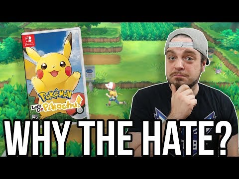 Pokemon Let's Go Pikachu on Nintendo Switch - Why The Hate? | RGT 85