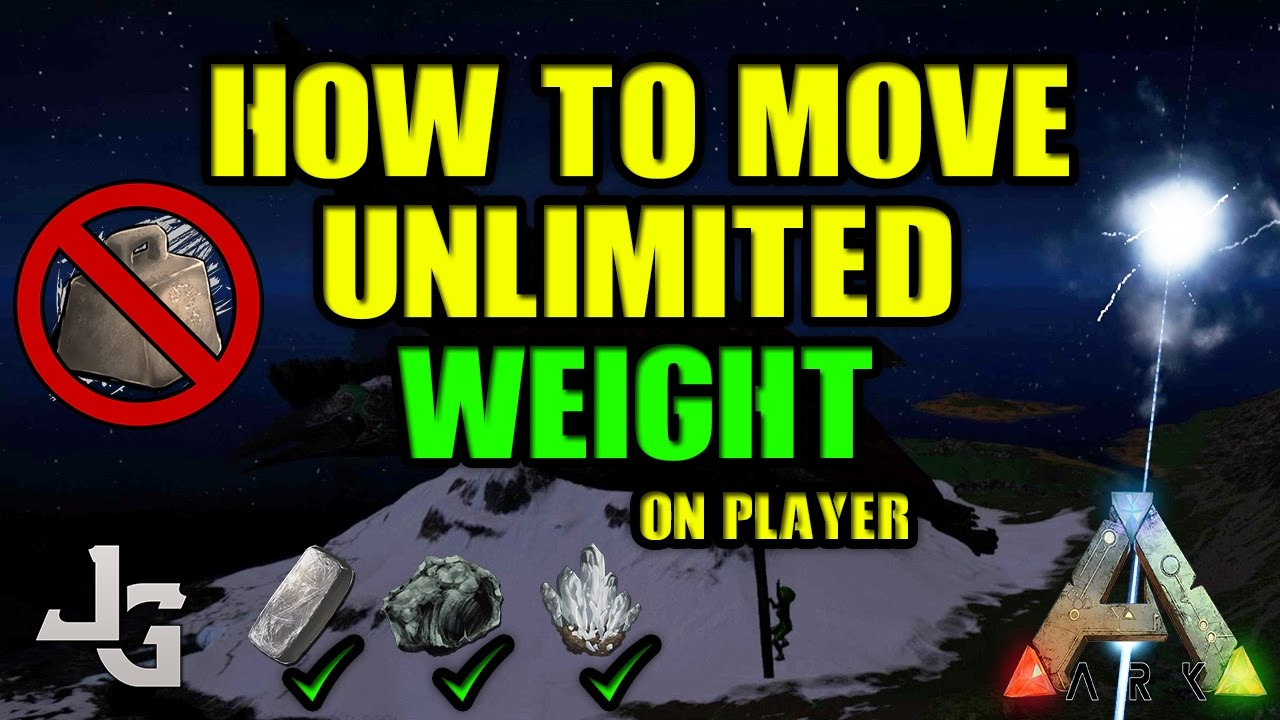 Ark infinite carry weight | [Question] Admin Commands for Weight