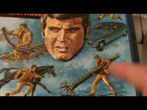 Jeff's ManCave: 6 Million Dollar Man Lunchbox Restoration Pt.1