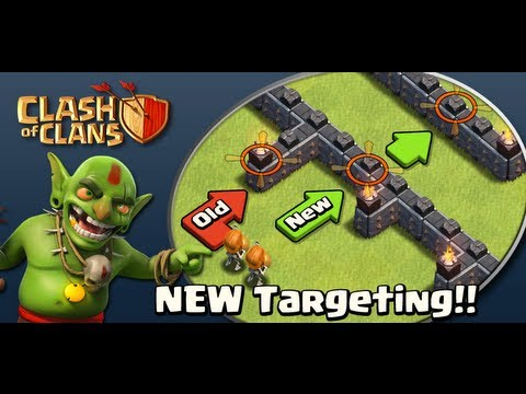 NEW Clash of Clans Wall Breakers and A.I. System Update + New Valkyrie Troop!!!!