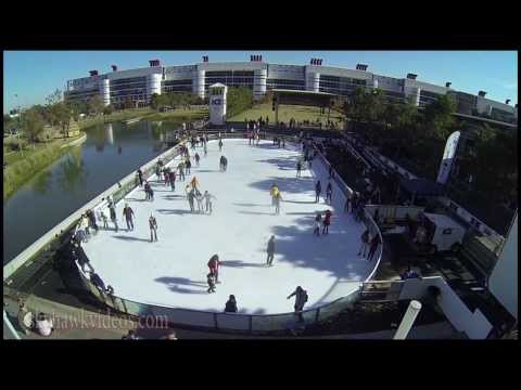 Discovery Green Houston - Ice Skating