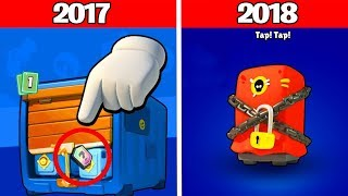 PACK OPENING DES ANCIENS COFFRES BRAWL STARS...