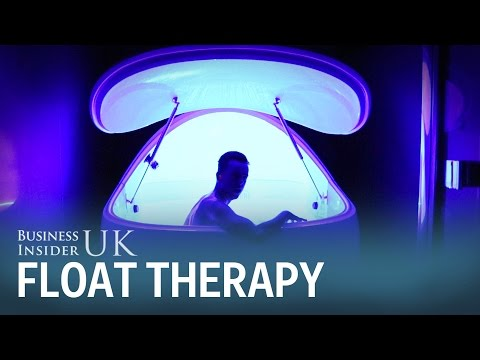 I tried floatation therapy which is a sensory deprivation experience
