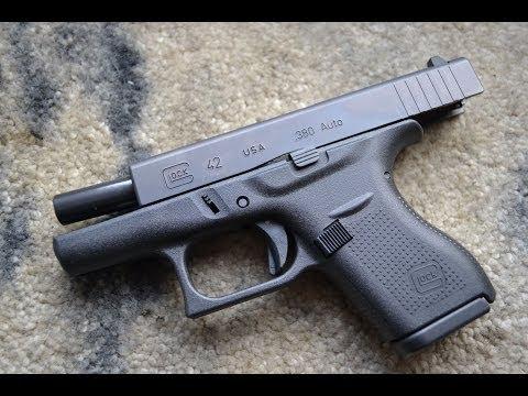 Glock 42 vs Glock 26 | FunnyDog.TV