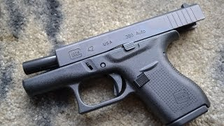 The New Glock 42  .380 Perfection