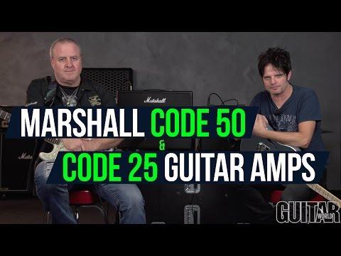 Marshall Code 50 & Code 25 Guitar Amps