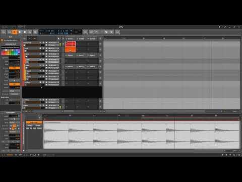 Bitwig, Ableton Like Drum Rack Routing