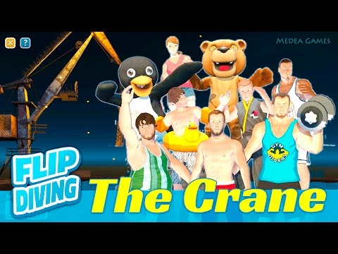 Flip Diving THE CRANE All characters