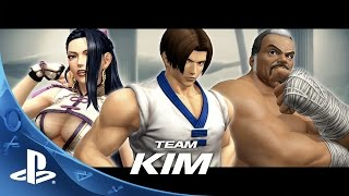THE KING OF FIGHTERS XIV -  Team Kim Trailer | PS4