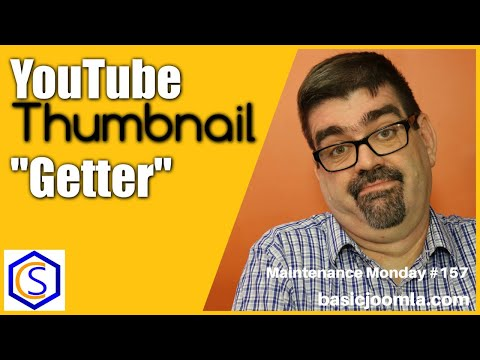 Get YouTube Thumbnails For Your Joomla Articles And Site - 🛠 MM Live Stream #157