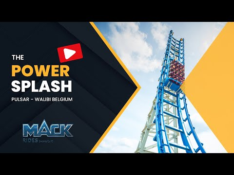 PowerSplash - Pulsar - Walibi Belgium