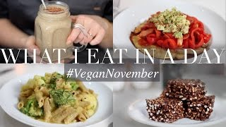 What I Eat in a Day #VeganNovember 13 (Vegan/Plant-based) | JessBeautician
