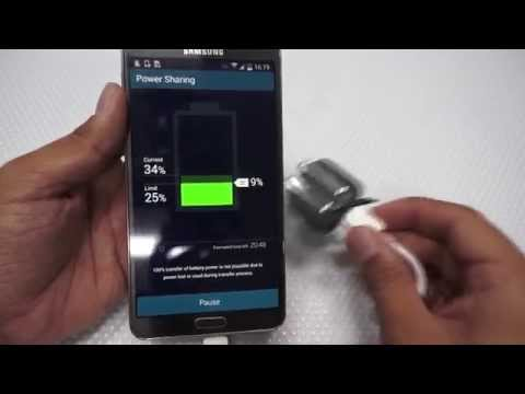 Samsung Power Sharing Cable Review & Demo