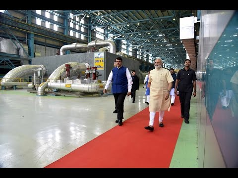 PM Modi at Inauguration Ceremony of Koradi Thermal Power Station in Nagpur, Maharashtra