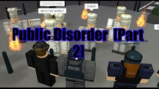 [Roblox london City] UK Police MPS SCO19 Public Disorder [Part 2]
