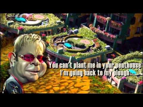 Elton John + Goodbye Yellow Brick Road + Lyrics/HD