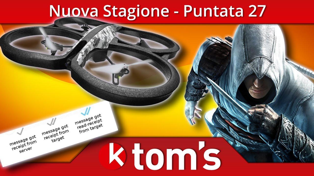 OK Toms² - Porno & Droni?    Assassins Creed critiche