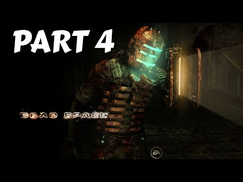 Dead Space Walkthrough Gameplay Part 4 (No Commentary!) Playing only with the plasma cutter!