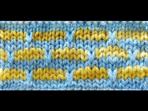 How to Do Basic Mosaic Knitting – Easy Brick Mosaic Pattern
